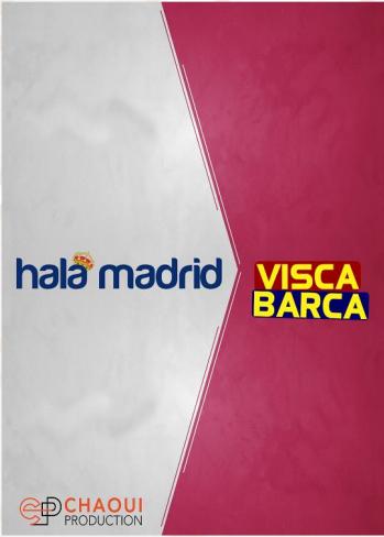 Hala Madrid visca Barça